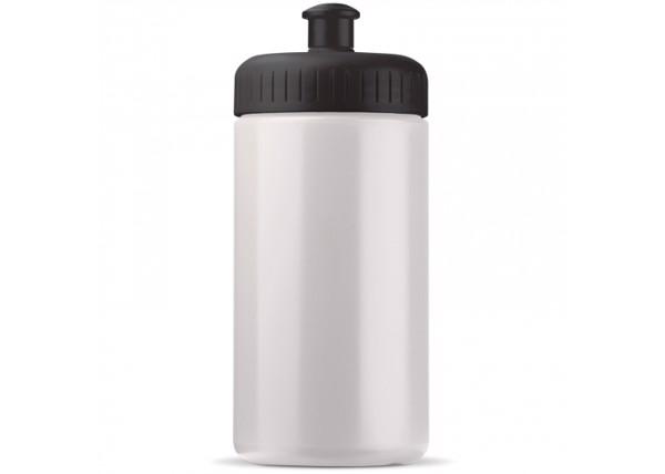 Sport bottle classic 500ml - White / Black