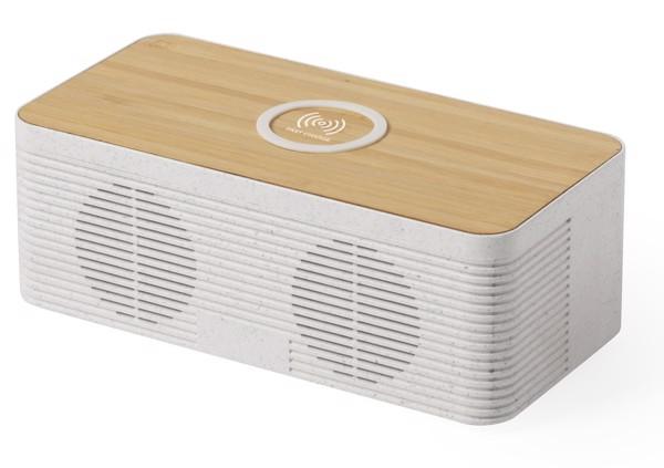 Bluetooth-Lautsprecher Mit Wireless-Charger Trecam - Natur