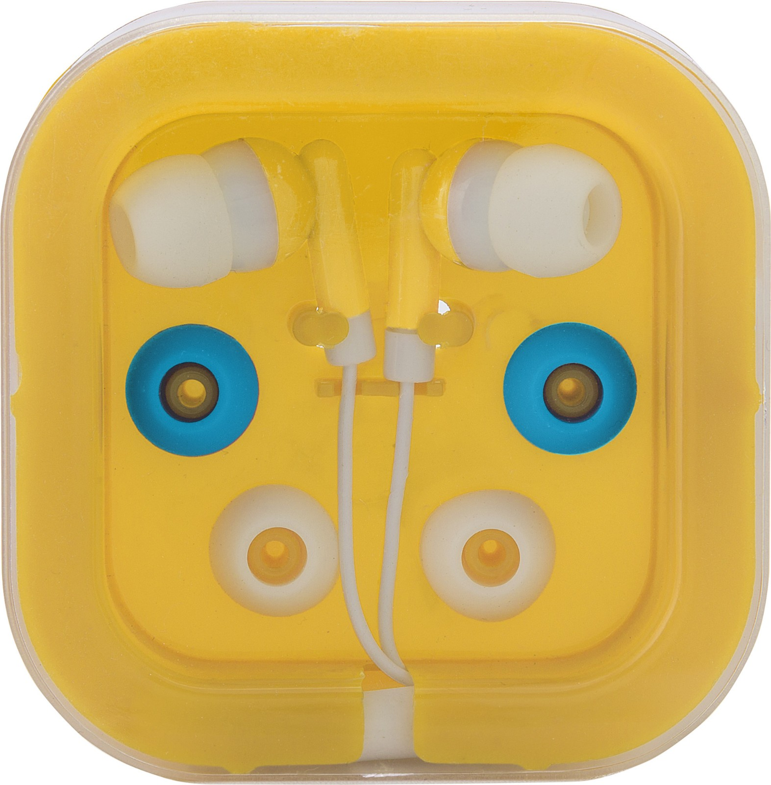 ABS earphones - Yellow
