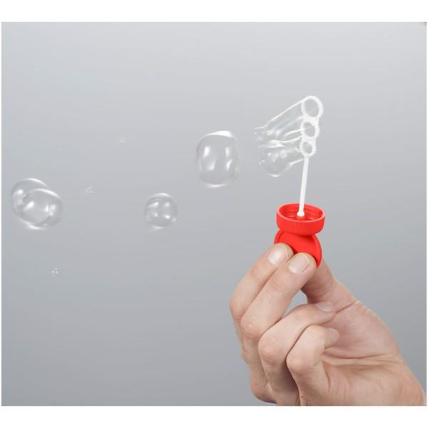Podłużny dozownik baniek mydlanych Bubbly - Czerwony