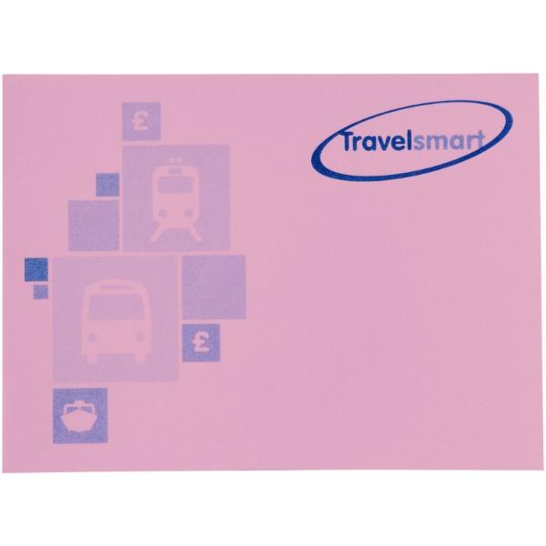 Samolepicí lístečky Sticky-Mate® 100x75mm - Světle růžová / 50 pages