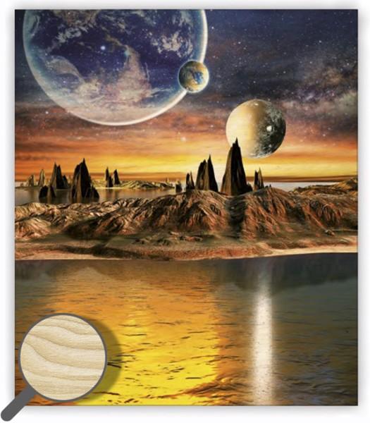 Dřevěný obraz Cosmic