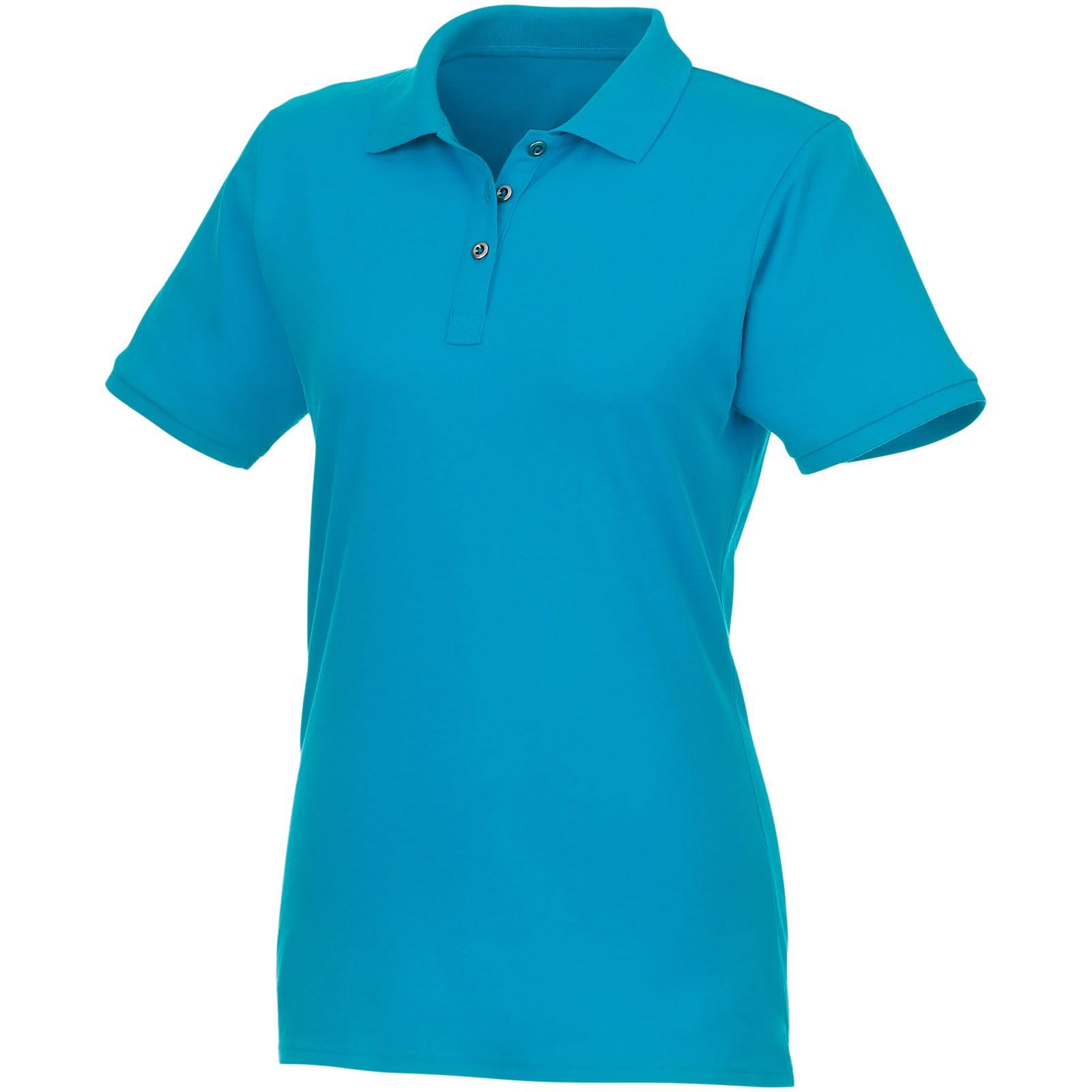 Beryl short sleeve women's GOTS organic GRS recycled polo - Nxt Blue / S