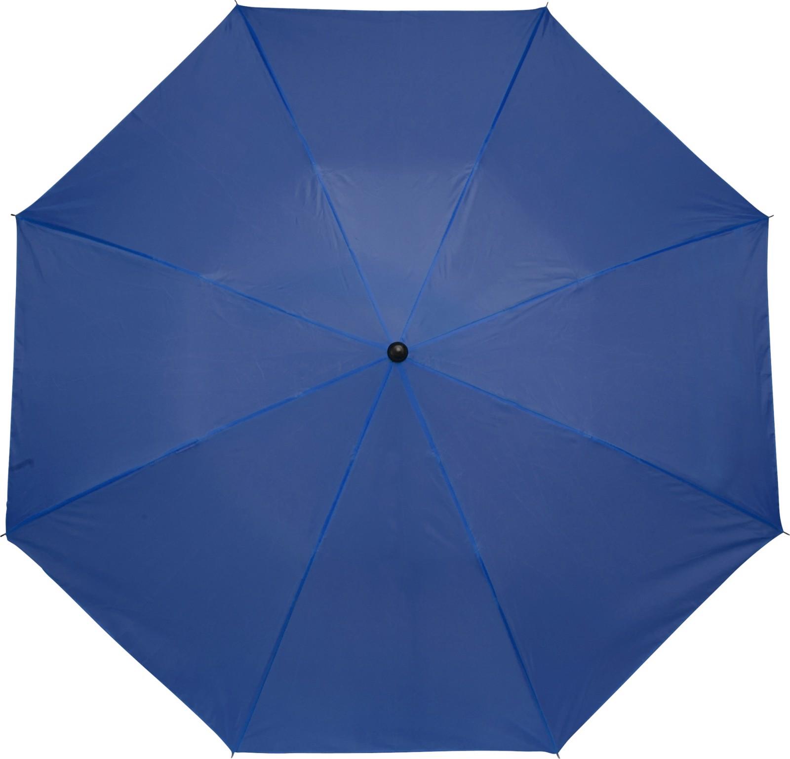 Polyester (190T) umbrella - Cobalt Blue