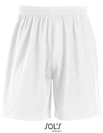 Basic Shorts San Siro 2 - White / L