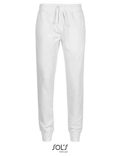 Men`S Slim Fit Jogging Pants Jake - White / 3XL