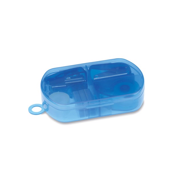 Stationery set in plastic box Burobox