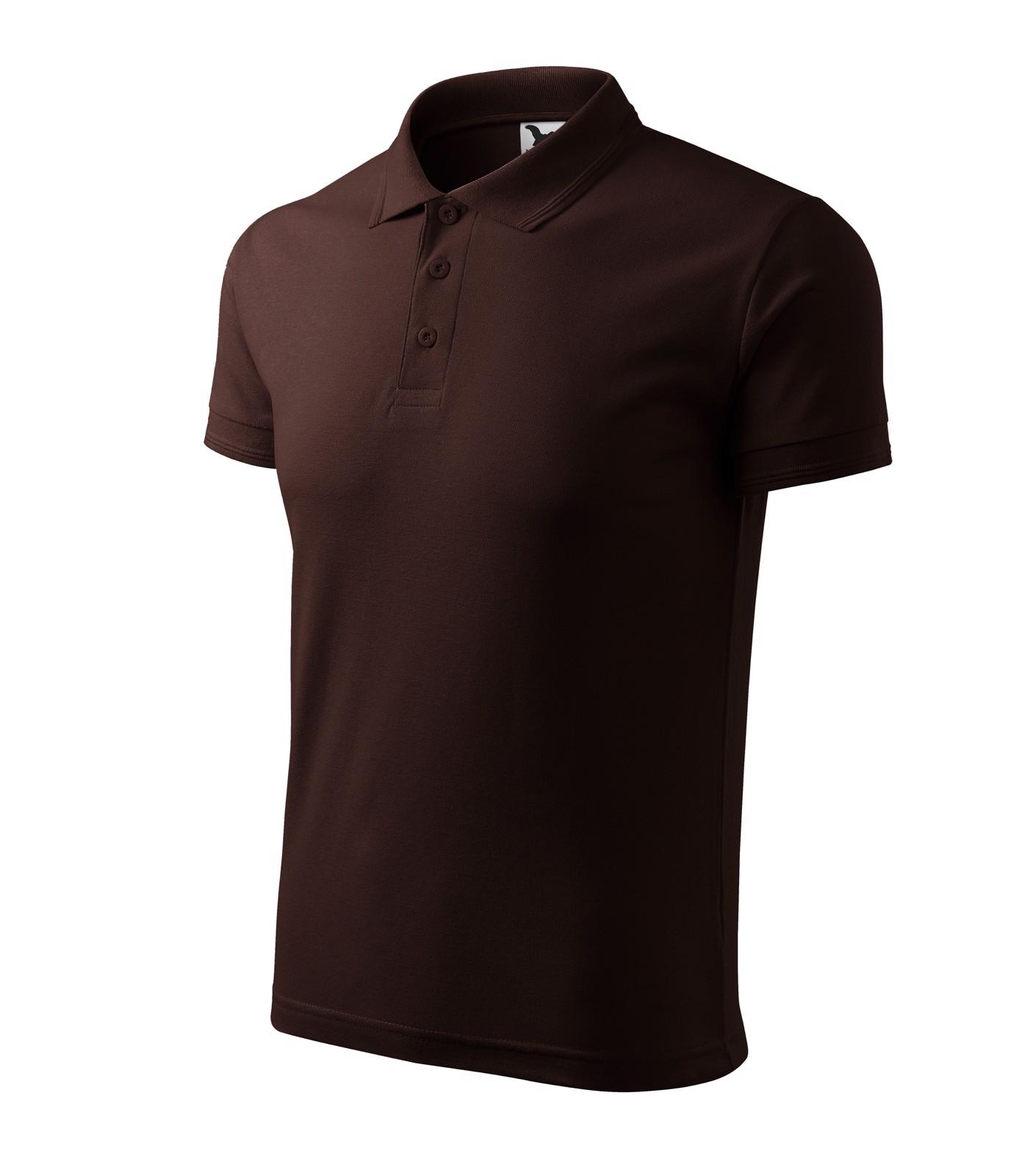 Polo Shirt men's Malfini Pique Polo - Coffee / S