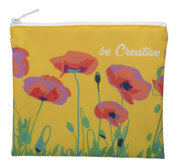 Custom Cosmetic Bag CreaBeauty M - White
