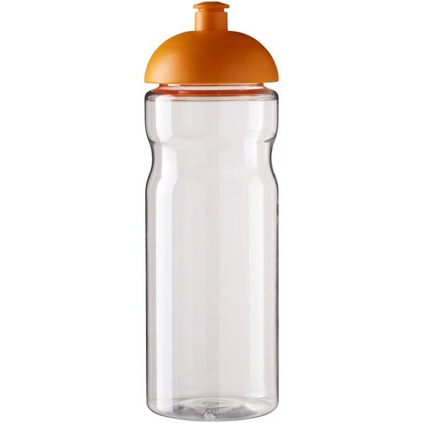 H2O Base® 650 ml dome lid sport bottle - Transparent / Orange