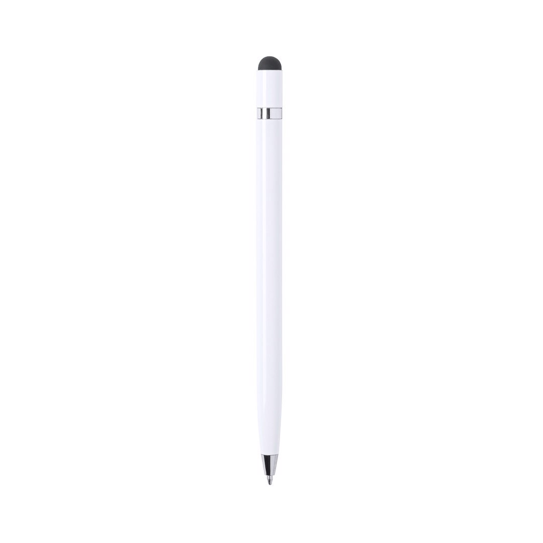 Stylus Touch Ball Pen Mulent - White