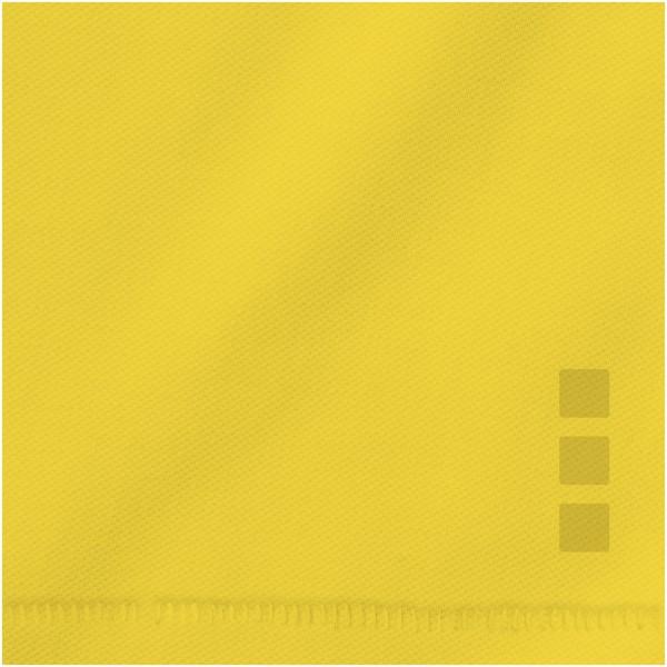Calgary short sleeve men's polo - Yellow / XXL