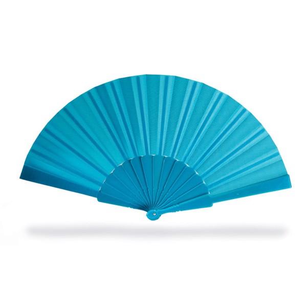 Manual hand fan Fanny - Blue