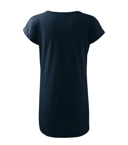 Tričko/šaty dámské Malfini Love - Námořní Modrá / M