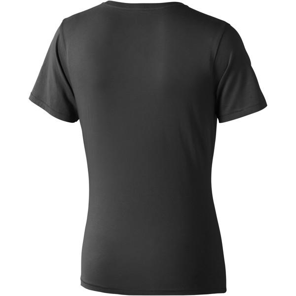 Dámské triko Nanaimo s krátkým rukávem - Anthracitová / L