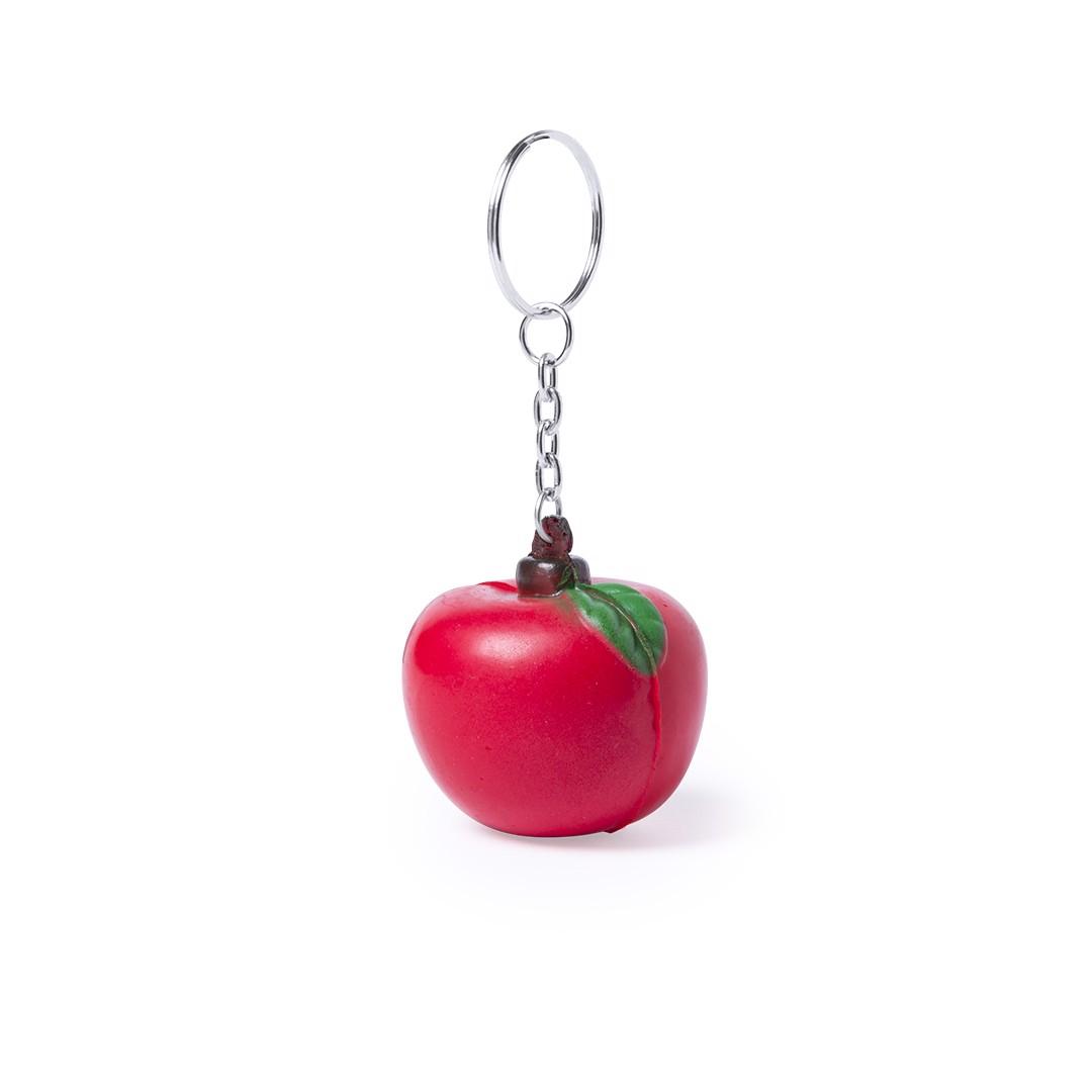 Llavero Antiestrés Fruty - Manzana