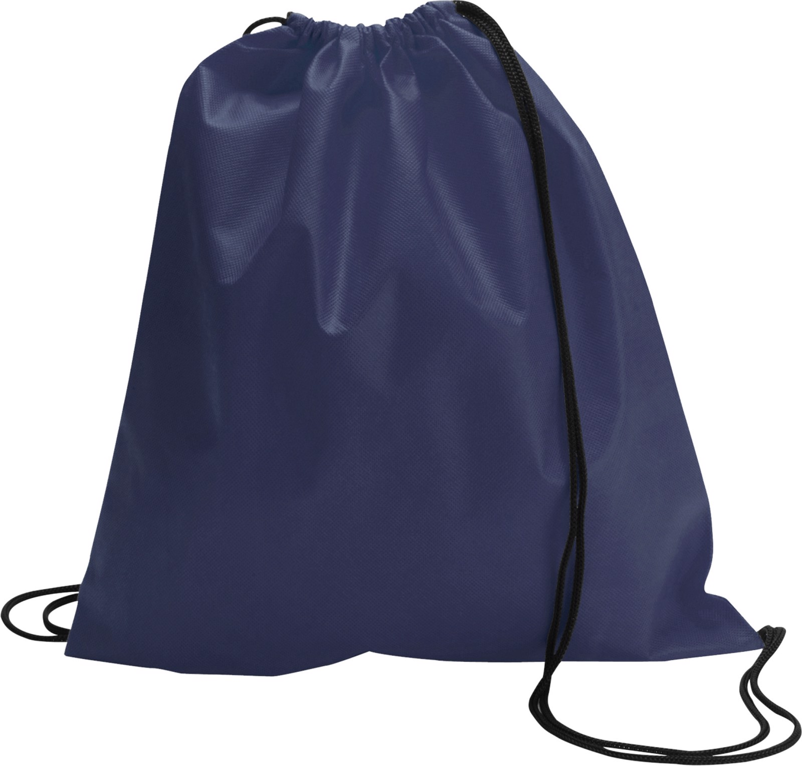 Nonwoven (80 gr/m²) drawstring backpack - Blue