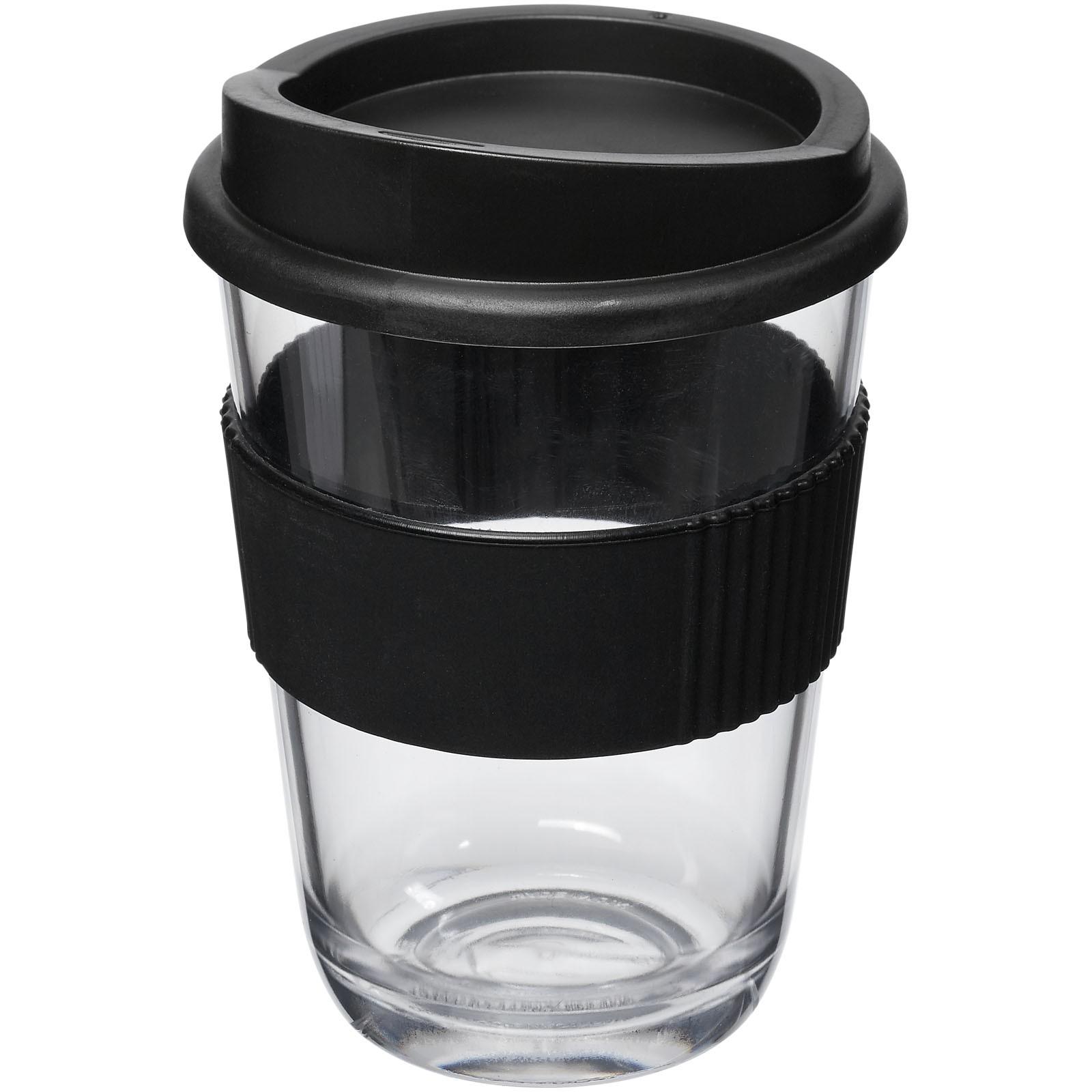 Americano® Cortado 300 ml kelímek s rukojetí - Černá