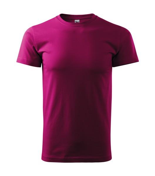 Tričko pánské Malfini Basic - Fuchsia Red / XL