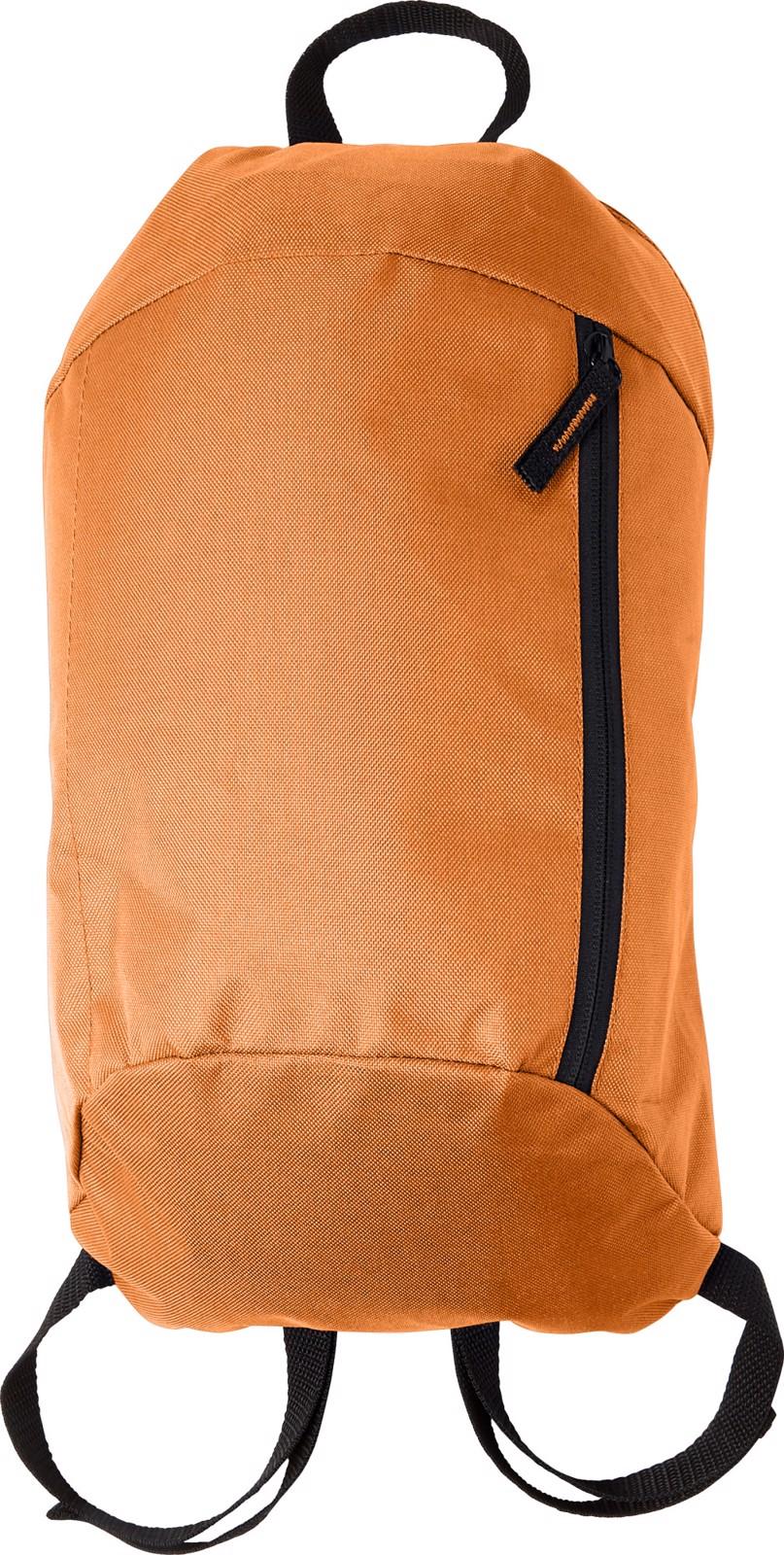 Polyester (210D) backpack - Orange