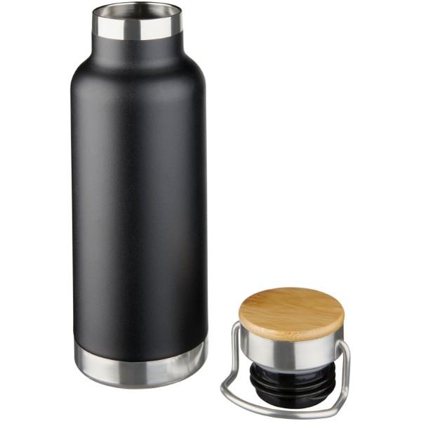 Thor 480 ml kupfer-vakuum Isolierflasche - Schwarz
