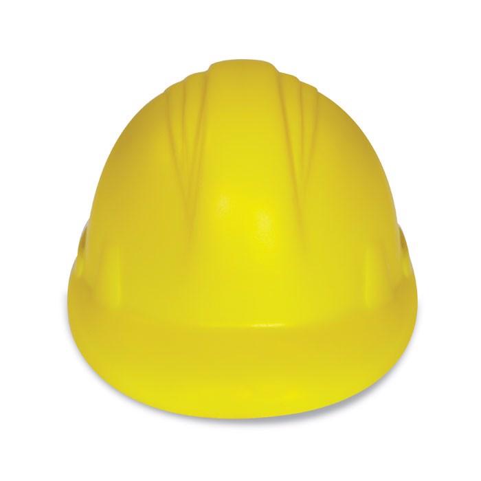 Antystres kask z PU Minerostress - żółty