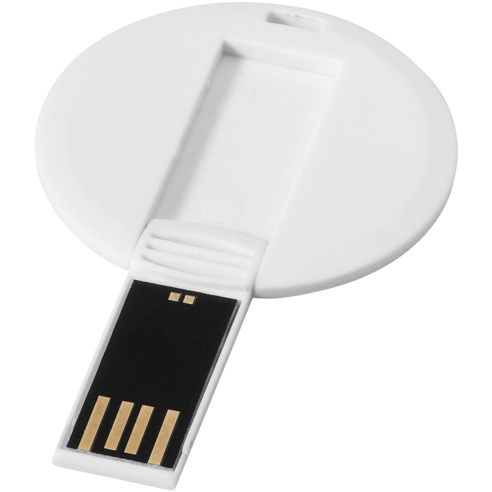 Round credit card - White / 1GB