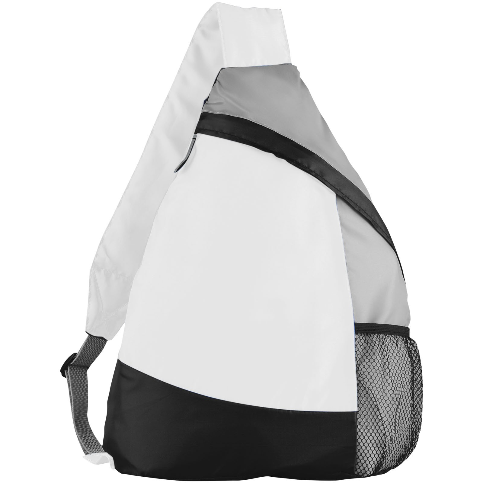 Armada sling backpack - White / Solid black / Grey