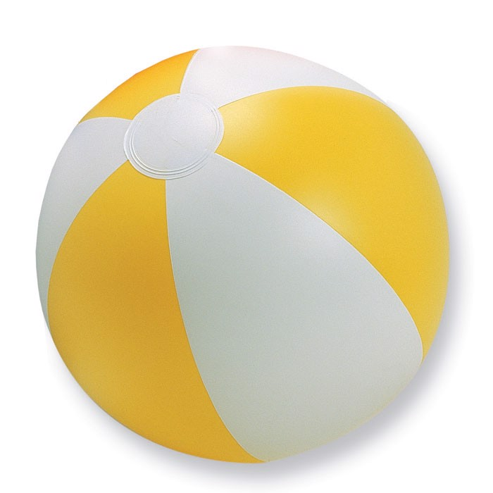 Inflatable beach ball Playtime - Yellow