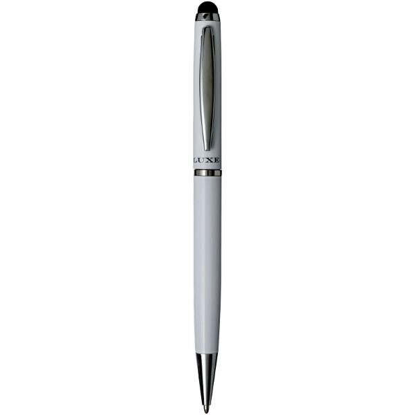 Lento stylus ballpoint pen - White