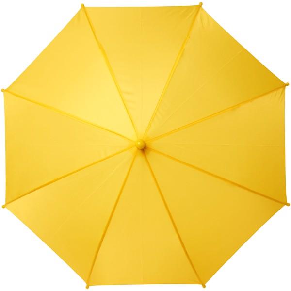 """Větruodolný deštník pro děti Nina 17"""" - Žlutá"""