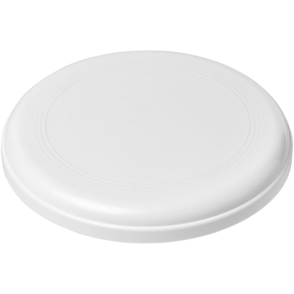 Cruz medium plastic frisbee - White