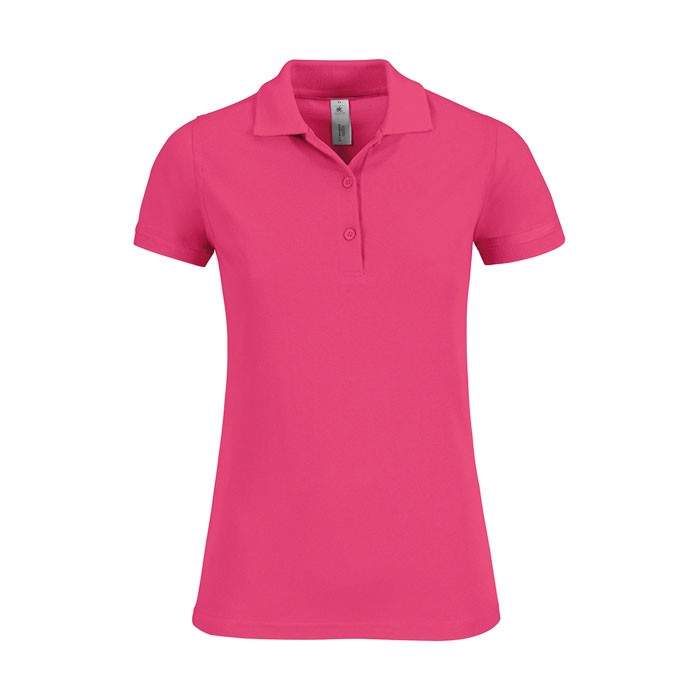 Ladies Polo Shirt 180 g/m2 Safran Timeless Women - Fuchsia / XS