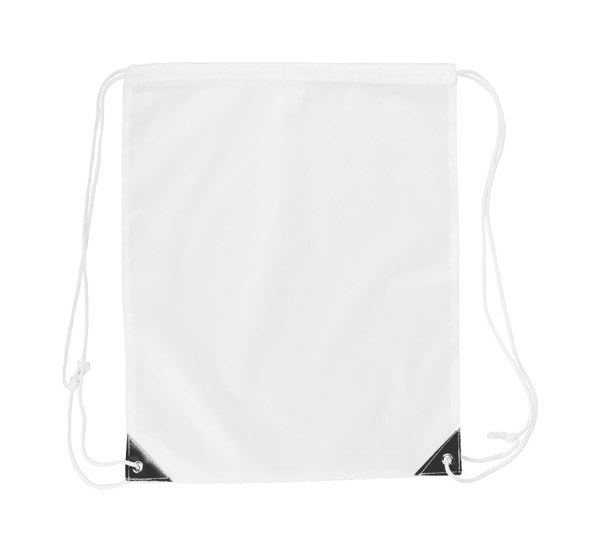 Drawstring Bag Nofler - White / Black