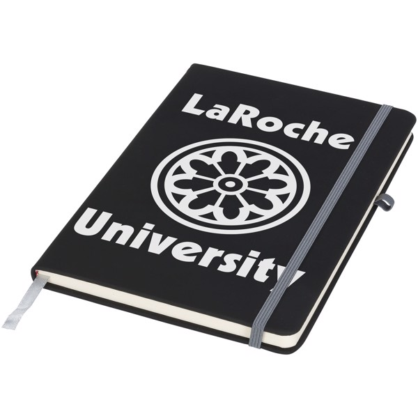 Noir medium notebook - Solid black / Grey
