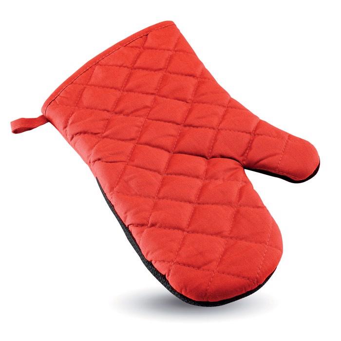 Pogumovaná kuchyňská rukavice Neokit - red