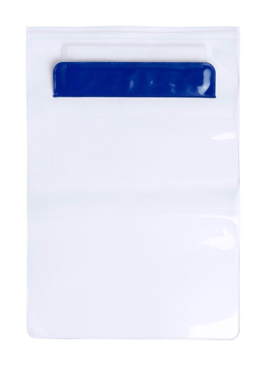 Husă Tabletă Kirot - Albastru / Transparent