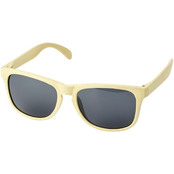 Rongo wheat straw sunglasses - Yellow