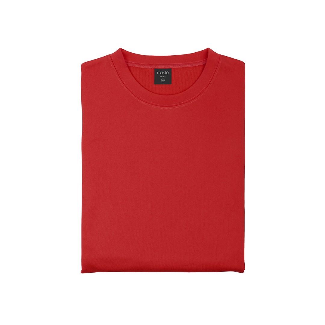 Sudadera Técnica Adulto Kroby - Rojo / M