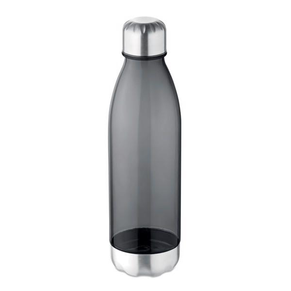 Milk shape 600 ml bottle Aspen - Transparent Grey