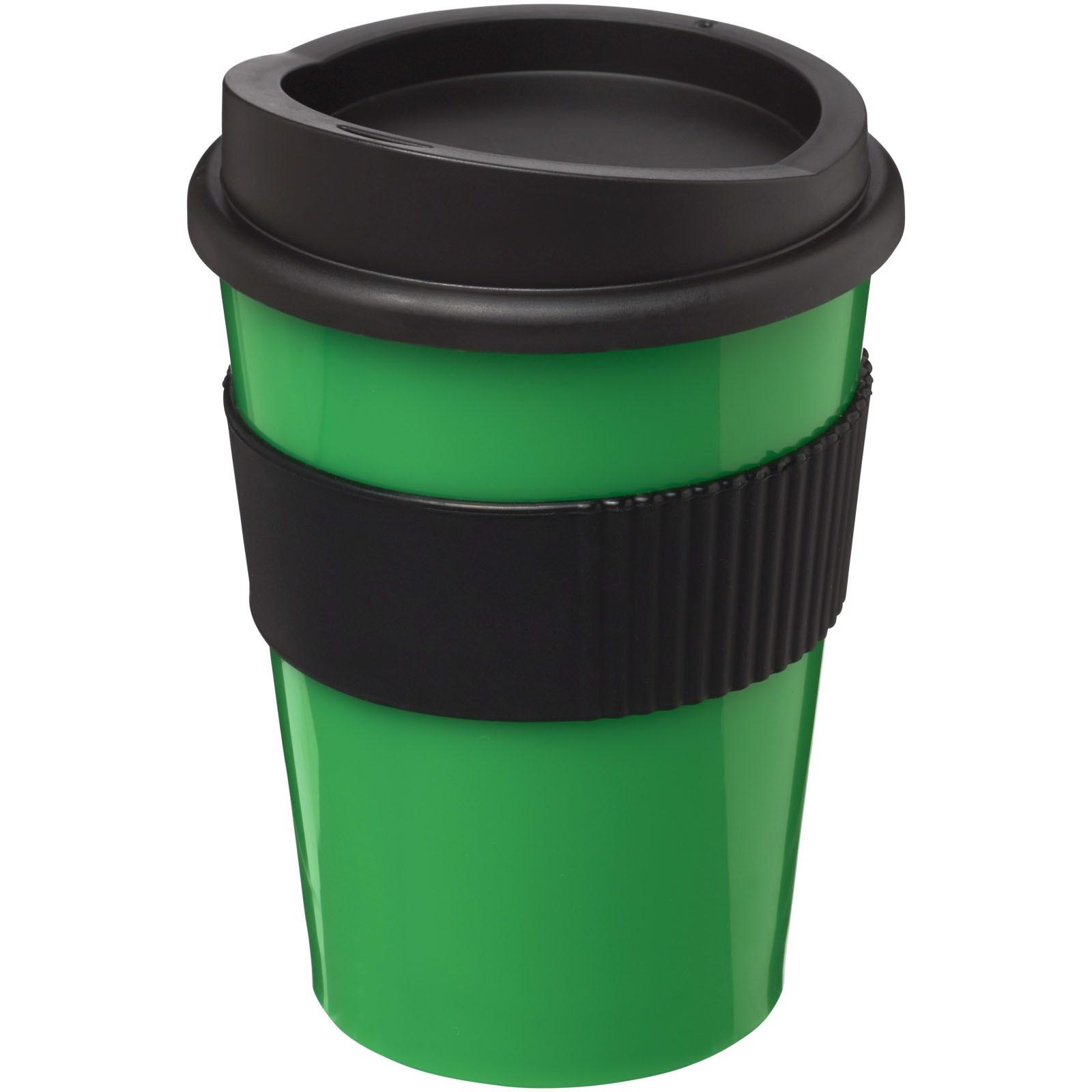 Hrnek s rukojetí Americano® medio 300 ml - Zelená / Černá