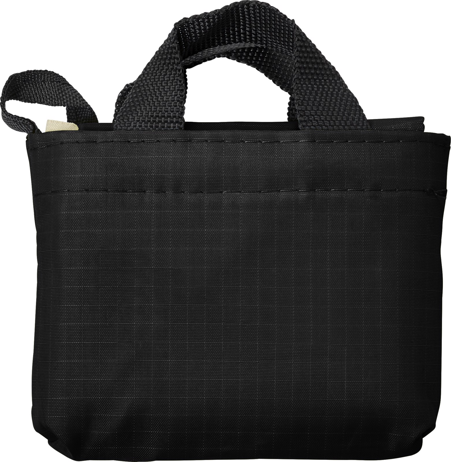 Oxford (210D) fabric shopping bag - Black