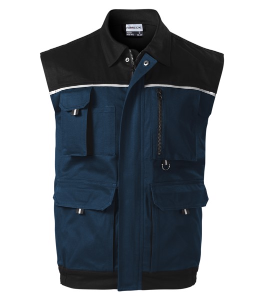 Work Vest men's Rimeck Woody - Navy Blue / 44/46