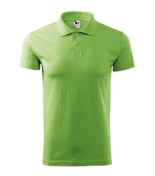 Polo Shirt men's Malfini Single J. - Grass Green / S