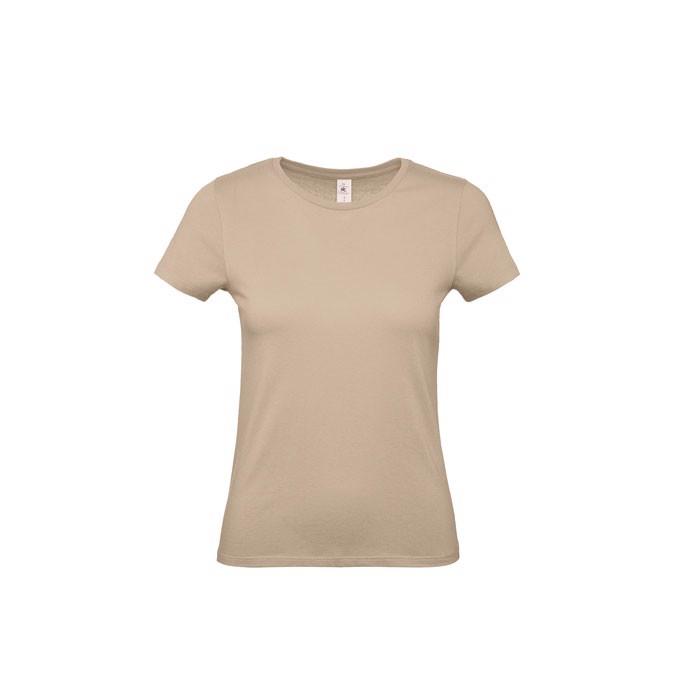 T-shirt female 145 g/m² #E150 /Women T-Shirt - Sand / XL