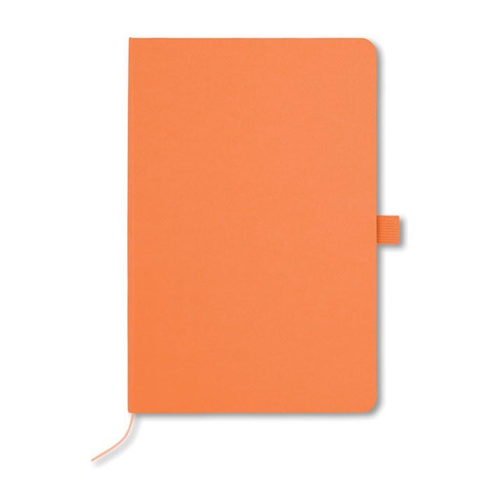 A5 zápisník, papírové desky Papirus - orange
