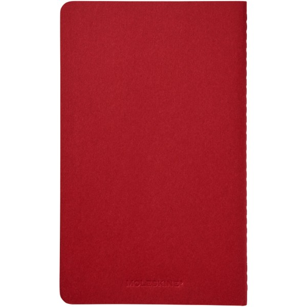 Cahier Journal L - ruled - Cranberry red