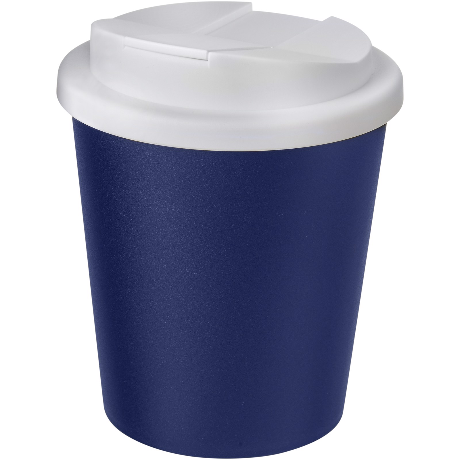Americano Espresso® 250 ml tumbler with spill-proof lid - Blue / White