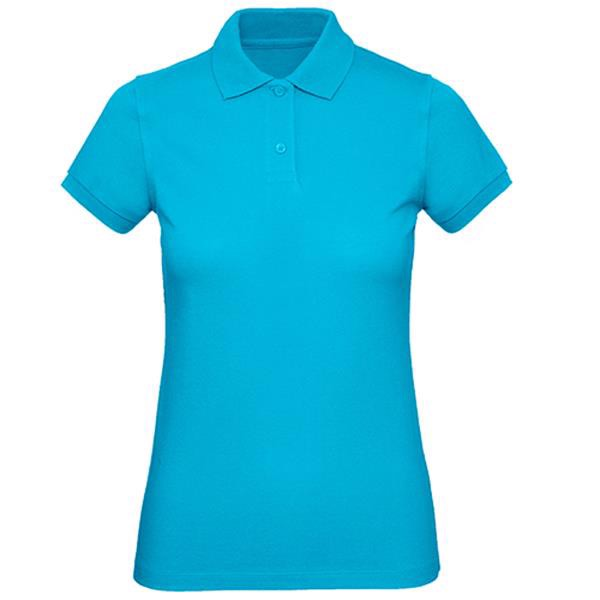 Inspire Polo Women - Very Turquoise / S