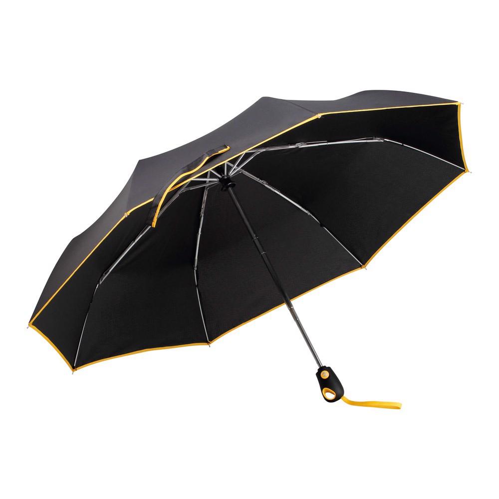 DRIZZLE. Guarda-chuva com abertura e fecho automáticos - Amarelo